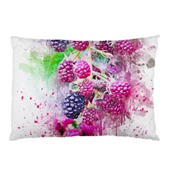 Blackberry Fruit Art Abstract Pillow Case (two Sides) by Celenk