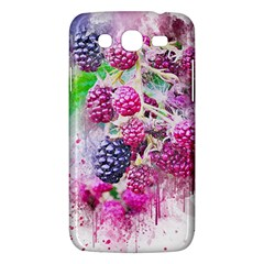 Blackberry Fruit Art Abstract Samsung Galaxy Mega 5 8 I9152 Hardshell Case  by Celenk