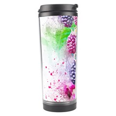 Blackberry Fruit Art Abstract Travel Tumbler by Celenk
