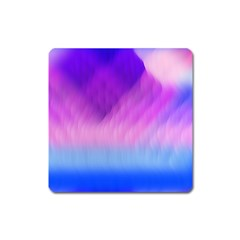Background Art Abstract Watercolor Square Magnet by Celenk