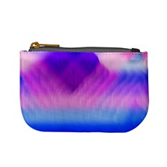 Background Art Abstract Watercolor Mini Coin Purses