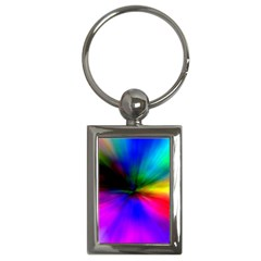 Creativity Abstract Alive Key Chains (rectangle)