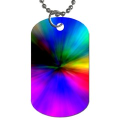 Creativity Abstract Alive Dog Tag (one Side) by Celenk