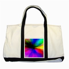 Creativity Abstract Alive Two Tone Tote Bag by Celenk