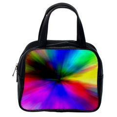 Creativity Abstract Alive Classic Handbags (one Side) by Celenk