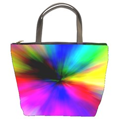 Creativity Abstract Alive Bucket Bags by Celenk