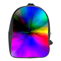 Creativity Abstract Alive School Bag (large)