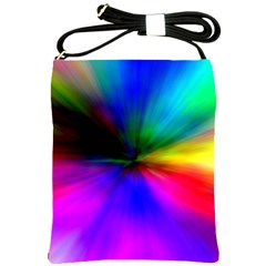 Creativity Abstract Alive Shoulder Sling Bags by Celenk