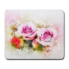 Flower Roses Art Abstract Large Mousepads