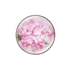 Flower Pink Art Abstract Nature Hat Clip Ball Marker (10 Pack)