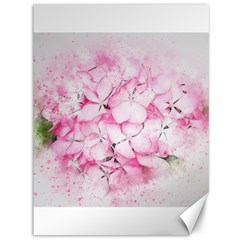 Flower Pink Art Abstract Nature Canvas 36  X 48   by Celenk