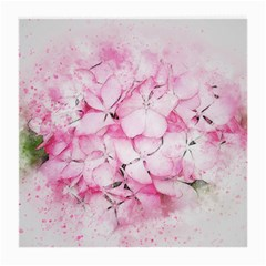 Flower Pink Art Abstract Nature Medium Glasses Cloth