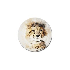 Leopard Animal Art Abstract Golf Ball Marker (10 Pack) by Celenk