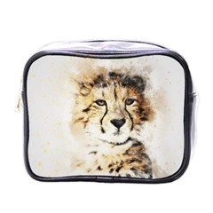 Leopard Animal Art Abstract Mini Toiletries Bags