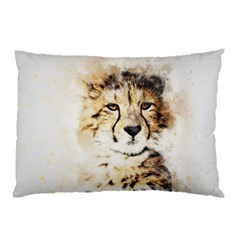 Leopard Animal Art Abstract Pillow Case (two Sides)
