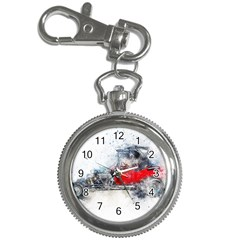 Car Old Car Art Abstract Key Chain Watches by Celenk