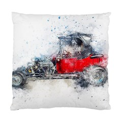 Car Old Car Art Abstract Standard Cushion Case (two Sides)
