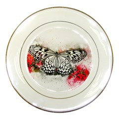Butterfly Animal Insect Art Porcelain Plates
