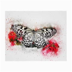 Butterfly Animal Insect Art Small Glasses Cloth (2-side) by Celenk