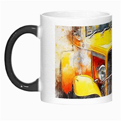 Car Old Art Abstract Morph Mugs by Celenk