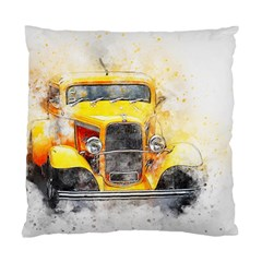 Car Old Art Abstract Standard Cushion Case (two Sides) by Celenk