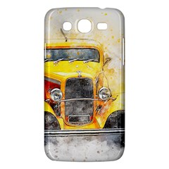 Car Old Art Abstract Samsung Galaxy Mega 5 8 I9152 Hardshell Case  by Celenk