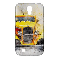 Car Old Art Abstract Samsung Galaxy Mega 6 3  I9200 Hardshell Case by Celenk