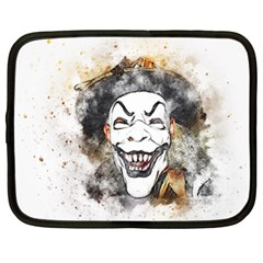 Mask Party Art Abstract Watercolor Netbook Case (xl)  by Celenk