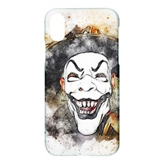 Mask Party Art Abstract Watercolor Apple Iphone X Hardshell Case