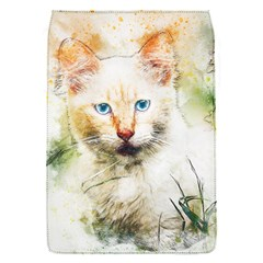 Cat Animal Art Abstract Watercolor Flap Covers (s)