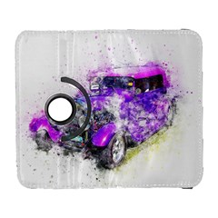 Car Old Car Art Abstract Galaxy S3 (flip/folio) by Celenk