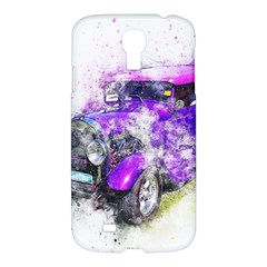 Car Old Car Art Abstract Samsung Galaxy S4 I9500/i9505 Hardshell Case by Celenk