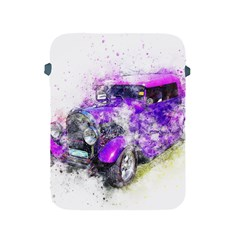 Car Old Car Art Abstract Apple Ipad 2/3/4 Protective Soft Cases by Celenk