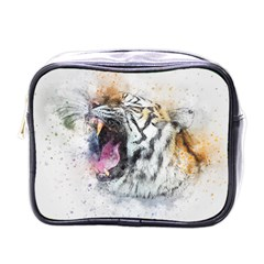 Tiger Roar Animal Art Abstract Mini Toiletries Bags