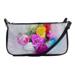 Flowers Bouquet Art Abstract Shoulder Clutch Bags