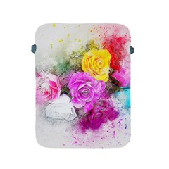 Flowers Bouquet Art Abstract Apple Ipad 2/3/4 Protective Soft Cases by Celenk