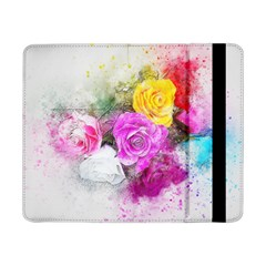 Flowers Bouquet Art Abstract Samsung Galaxy Tab Pro 8 4  Flip Case by Celenk