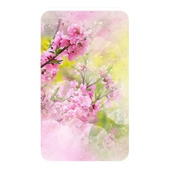 Flowers Pink Art Abstract Nature Memory Card Reader