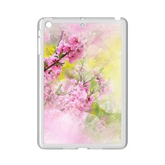 Flowers Pink Art Abstract Nature Ipad Mini 2 Enamel Coated Cases by Celenk