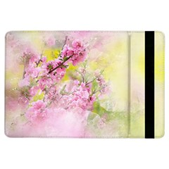 Flowers Pink Art Abstract Nature Ipad Air Flip