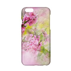 Flowers Pink Art Abstract Nature Apple Iphone 6/6s Hardshell Case by Celenk