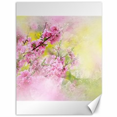Flowers Pink Art Abstract Nature Canvas 36  X 48