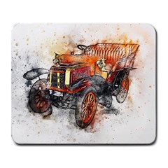 Car Old Car Art Abstract Large Mousepads by Celenk