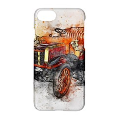 Car Old Car Art Abstract Apple Iphone 8 Hardshell Case