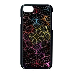 Background Grid Art Abstract Apple Iphone 8 Seamless Case (black)