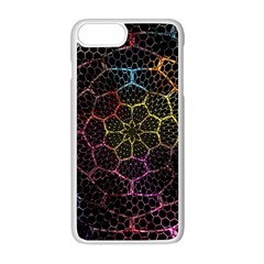 Background Grid Art Abstract Apple Iphone 8 Plus Seamless Case (white)