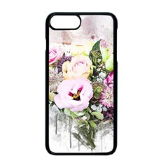 Flowers Bouquet Art Abstract Apple Iphone 7 Plus Seamless Case (black)