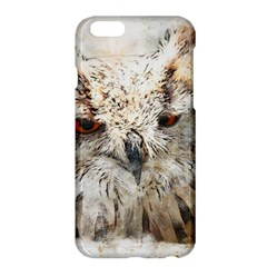 Bird Owl Animal Art Abstract Apple Iphone 6 Plus/6s Plus Hardshell Case