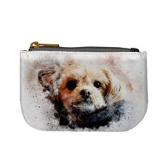 Dog Animal Pet Art Abstract Mini Coin Purses