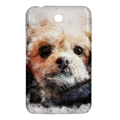 Dog Animal Pet Art Abstract Samsung Galaxy Tab 3 (7 ) P3200 Hardshell Case  by Celenk